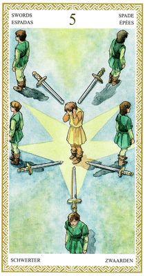 5 de Espadas | Lo Scarabeo Tarot
